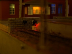Домашний макет, Автор - Антон Галацкий. Масштаб Н0.